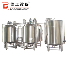 1000L insulation combined& jacket 3 container beer saccharification system