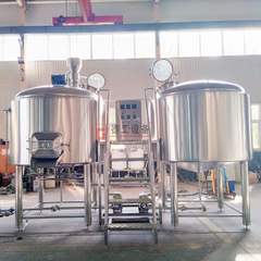 2000L Commercial Used Electric & Steam Heating 2 Vessels Brewhouse Beer Mashing Equipment for Sale