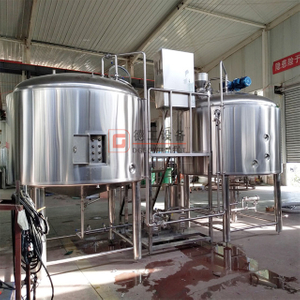 500L 1000L Commercial Use Beer Brewing Equipment Stainless Steel Brewhouse And Conical Fermenter Tank