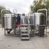 2000L professional industrial automated steel beer brewing equipment in Sweden
