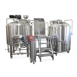 1000L Stainless Steel 304 Industrial Beer Brewing Equipment with Unitank Fermentation Tank Brewery Plant Manufacturer