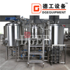 1500L 2-vessel Or 3-vessel SUS304 Craft Beer Brewhouse Making Equipment Brewery for Sale