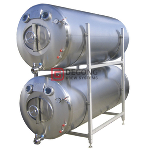 500L horizontally stackable insulated bright beer tank/ beer storage tank for sale