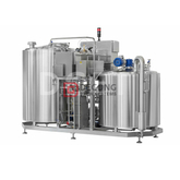 1000L Steam/electric Heating 2/3/4 Vessels Beer Mashing System Beer Brewhouse for Sale