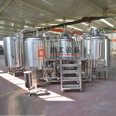 1000L Automatic Steam Heating Customized Stainless Steel Beer Brewery Brewhouse / Mash System