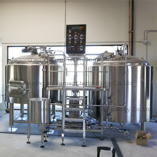 1000L 2/3/4 Vessel Stainless Steel Commercial Customized Brewery Equipment with Steam Heating