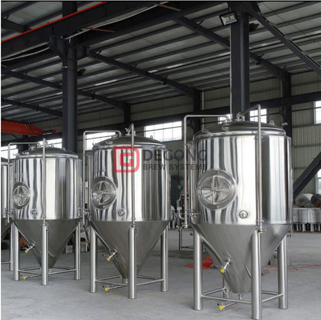 1000L Turnkey Stainless Steel Brewery Conical SUS 304 Beer Brewing Equipment