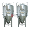 1000L Stainless Steel Dimple Jacket Conical Fermenter Restaurant Microbrewery Equipment brewing system China