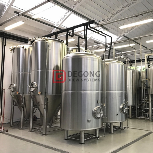 1500L Industrial customized steam heated beer brewing equipment for sale