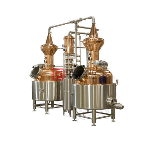 200 Gallon Copper Column Batch Still System Distillation Machine for Distilling