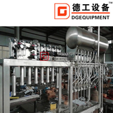 2000 b/h washing filling capping 3 in1 machine Glass bottle beer Filling Machine / Beer filling line for sale