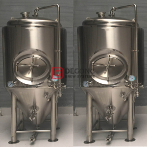 Customizable Available Stainless Steel Polyurethane Double Jacket 2000L Cylindrical-conical Fermentation Tank Sale in Vancouver,Canada