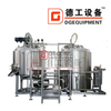 Craft Beer Pub Restaurant Bar Sus304 500L 1000L Customized Beer Micro Brewery Equipment