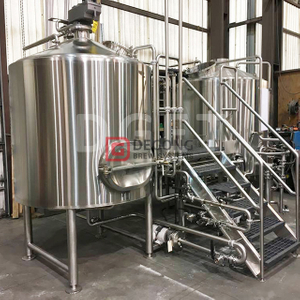 1500L 2/3/4 Vessels Beer Brewhouse Brewing System Brew Kettle for Commercial Used Beer Brewery Equipment