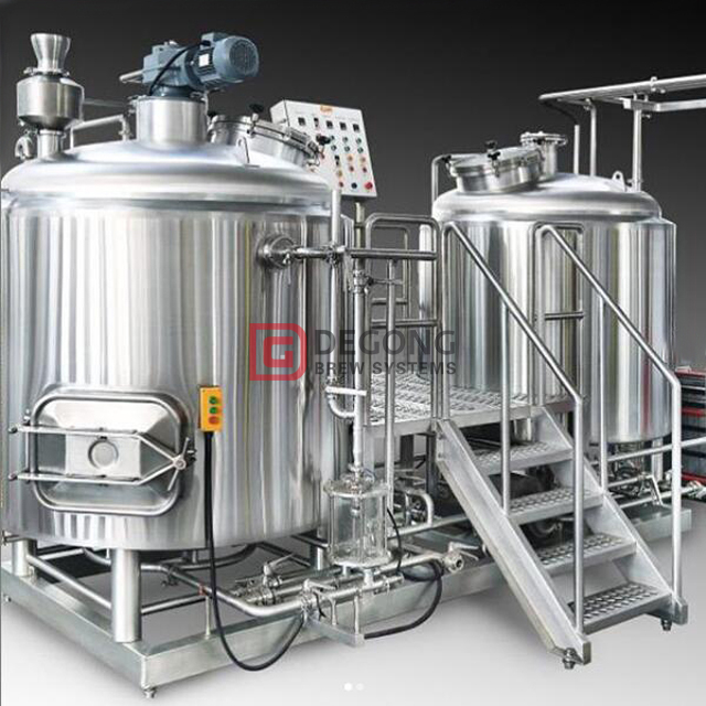 Customizable 500L/1000L/1500L Restaurant Beer Brewery Equipment Available for Sale