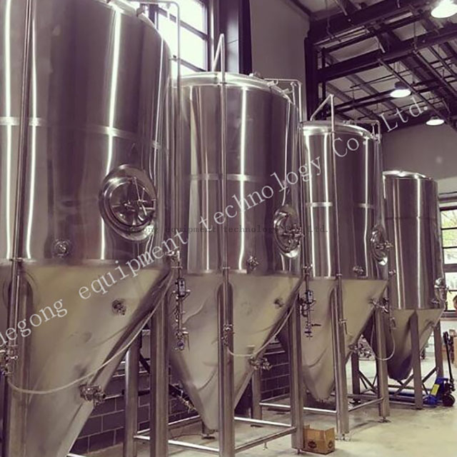 1000L stainless steel brewery commercial beer brewing equipment fermentation tank supplier