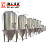 10BBL Stainless Steel Conical Dimple Jacket Beer Fermentation Tank with Cooling Zone