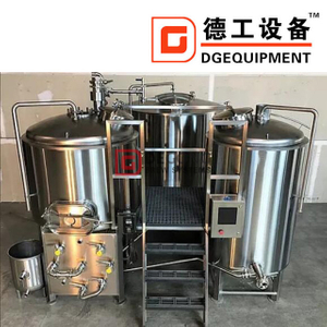 5HL turnkey commercial steel microbrewery equipment for brewpub/ hotel/ restaurant