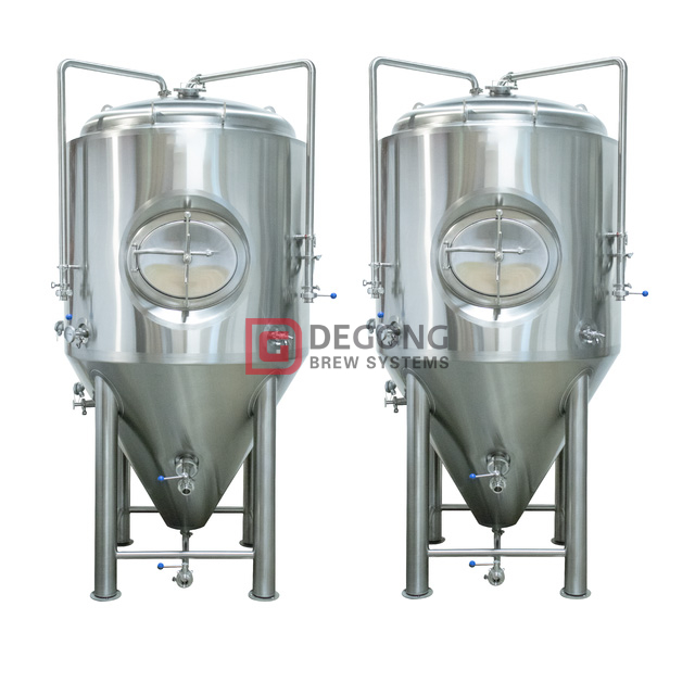 10HL Cooling Jacket Stainless Steel conical Fermentation Tank Brewing System Manufacturer Beer Production Line Popularity Australia