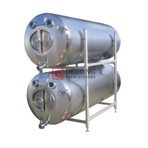 10HL Lagering Tanks Horizontal Brite Beer Tank Custom Stainless Steel Tanks for Breweries Across The US