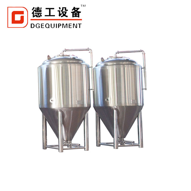 Industrial Beer Brewery Equipment 2000L Conical Cylinder Tank / Fermenter for Microbrewery