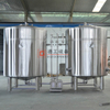 Industrial Brewing System 2000L Beer Equipment 3 Vessel Brewhouse
