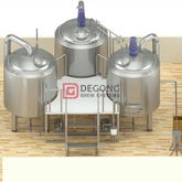 10BBL industrial commercial customized beer brewing equipment manufacturer in China