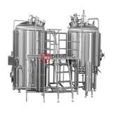 Popular Configurations 2 Vessel Stainless Steel Industrial Brewhouse Equipment Manufacturer Brewing Plant in England Liverpool