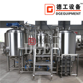1000l Malt Brewery Production Line Universal Scale Craft Kettle Brewing Equipment in Canada