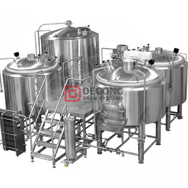 1500L commercial industrial craft beer brewing equipment for sale in Peru