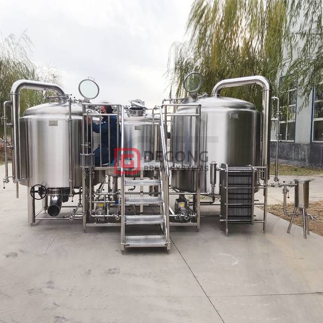 1000l Commercial Beer Brewing Equipment Craft Beer Making Machine Conical Unitank Cost