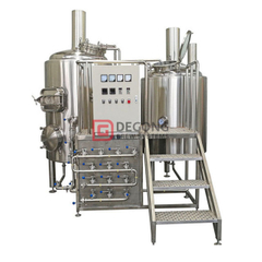 customizable 100L/500L /1000L industrial stainless steel craft beer brew equipment beer making line in China