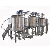 7BBL Stainless Steel Customized Food Grade Craft Beer Brewhouse Equipment with Steam Heating for Sale