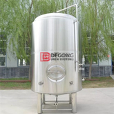 500L-5000L Double Wall Stainless Steel Dimple Jacket Brite Beer Tank Storage Tank Maturation Tank for Sale