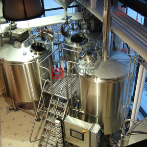 10bbl Turnkey Completed Commercial Used Automatic Stainless Steel Craft Beer Brewing Equipment for Sale