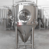 1000L Beer Fermentation Tanks for Sale Uk double wall and Isobaric fermenting vessel with blow off