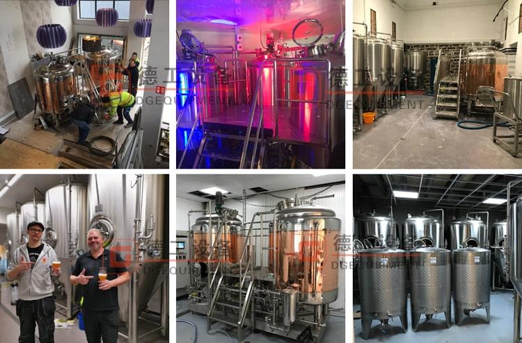 beer brewhouse in brewpub