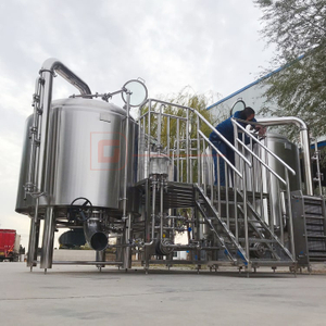 1000L 2000L Commercial Brewery Used European Standard Professional Brewing Equipment With Siemens/ABB Motor