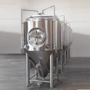 500L Double Wall Dimple Jacket Stainles Steel Conical Insulated Beer Fermentation Tank Available