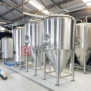 10BBL-30BBL Beer Fermenter Sus304/316 CCT FV Serving Tank Customized Tanks Cooling Jacket for Sale