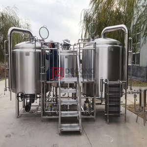 1000L/2000L commercial turnkey brewery equipment brew kettle automated beer machinery