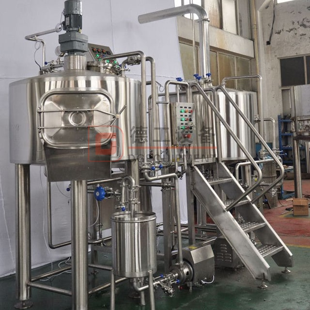 200L Easy Installed Home Set Up Micro Beer Brewing System Craft Brewery Equipment for Sale