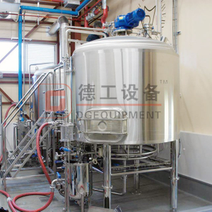 600L Pub/restaurant Beer Brewing System Craft Beer Making Line Turnkey Project with Steam Heating Double Wall Polyurethane Insulation for Sale