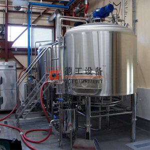 American Standard Beer Equipment 15bbl Tank - Approx. 500 Gallon Stainless Steel All-Grain Complete Brewery Equipment
