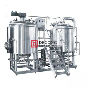 500L Resrtaurant Used Beer Brewing Equipment Brewery Tank SUS304 Beer Brewing System