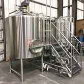 Quality controlled brewing system 15bbl middle size brewery plant for business