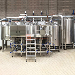 Applicable for the microbrewery, brewpub, taproom, restaurant 15BBL middle size brewery machinery