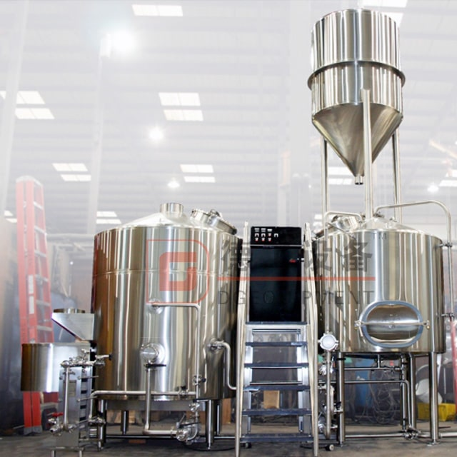 700L Brewery Equipment Combined Electric&steam Heating 2/3 Vessels Beer Brewhouse Brewing System