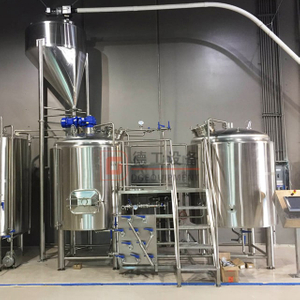 5BBL Industrial/commercial Used Beer Equipment 3 Vessel Brewhouse Beer Mashing System for Sale