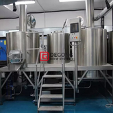 2 Vessel 10HL Brewhouse Industrial Brewery Equipment Professional Beer Brewing Equipment Manufacturer Hot Sale